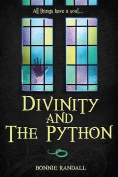 Divinity and The Python by Bonnie Randall (my friend, for real!!!!mk) Can't wait to read her book!!!!!
