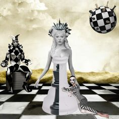 """Surreal chess"" by beth-walkingonsunshine on Polyvore"