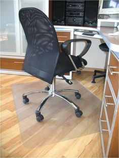 Computer Mats For Hardwood Floors Clear Plastic Floor Mat pertaining to proportions 945 X 945 Clear Plastic Desk Chair Mat - Club chairs were initially des Used Office Chairs, Office Chair Mat, Best Office Chair, Home Office Chairs, Desk Chair, Office Furniture, Furniture Ideas, Office Desks, Swivel Chair