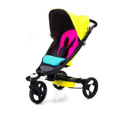 CMYK Zen Stroller by bloom.  folds up small and great all-terrain uses. i think the kiddo would love it!