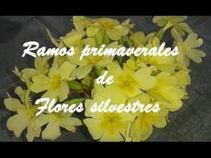 Ramos primaverales de flores silvestres