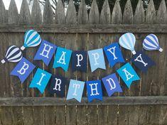 Hot air balloon birthday. Hot air balloon party. Hot by TinCakes