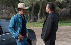 They Dug Coal Together: Timothy Olyphant and Walton Goggins Look Back on 'Justified' - NYTimes.com