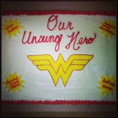 Unsung Hero cake by Life is Sweet - https://www.facebook.com/LifeisSweetBG