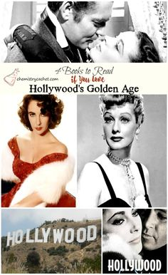 4 Books to Read if you LOVE Hollywood's Golden age! on chemistrycachet.com