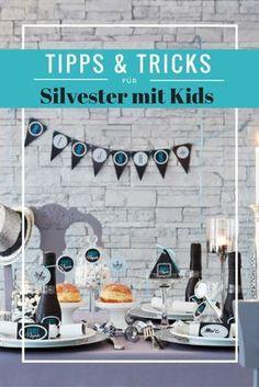 Tipps & Tricks für Silvester mit Kids