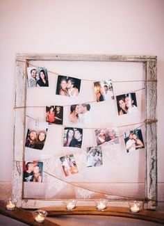Make your own picture frame - 36 creative DIY ideas for home decoration # .,Make your own picture frame - 36 creative DIY ideas for home decoration decorating picture frames themselves create original ideas on how to col. Exposition Photo, Thoughtful Gifts For Him, Ideias Diy, Diy Décoration, Easy Diy, Fun Diy, Home And Deco, Cute Photos, Hang Photos
