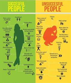 Review these differences to determine specific areas in which you can change and improve your life! http://pinterest.com/pin/24066179229978224; http://pinterest.com/pin/24066179231186608