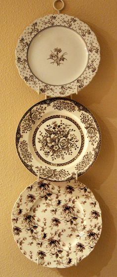 Transferware dishes
