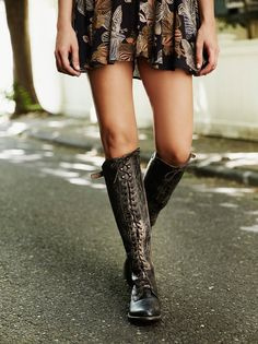 Free People if you're listening - send a size 7 - thanks! Glastonbury Lace-Up Boot. - 7 -  FreePeople  #shoes #shoecrazy