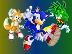 Sonic and his Best Friend and his Cool Brother by 9029561 on DeviantArt