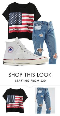 """""""Untitled #974"""" by crinahs ❤ liked on Polyvore featuring Chicnova Fashion, ASOS and Converse"""