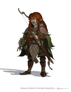 John paul balmet female forestgnome ranger