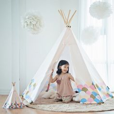 This is Looka Tent for kids which is famous play tent in South Korea. #Looka tent #루카텐트 #Indian tent