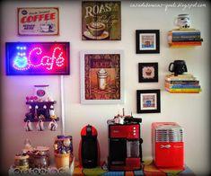 Coffee Time Decor! Inspirações para fazer um cantinho do café na sua casa!