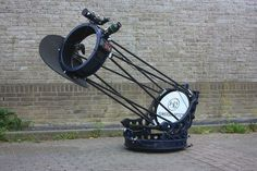"""This is a 16"""" Dobsonian scope called a """"Canopus,"""" made by Sumerian Optics. #Astronomy #Telescopes #Dobsonian"""