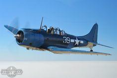 SBD Dauntless | Air to Air Photo Shoot - Douglas SBD-5 Dauntless - September 03, 2005 ...
