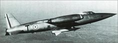 SNCASO SO 9050 Trident II (1955). An experimental supersonic interceptor airplane powered by a mix of rocket and jet engines.