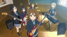 K-ON! is the cutest anime I ever seen! :3 <3