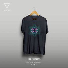#kaleidoscope #graphics #waterfirm #tees #coldplay #inspired