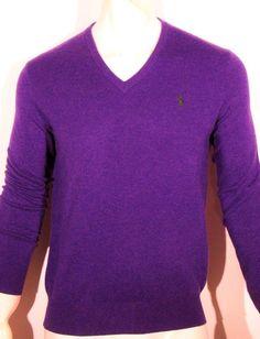 Polo Ralph Lauren merino wool v-neck men's sweater size xxl    new on SALE #PoloRalphLauren #VNeck