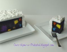 Once Upon A Pedestal: Surprise Inside Cake - Hidden Squares and Geometrics