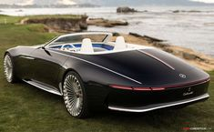 Vision Mercedes-Maybach 6 Cabriolet Revealed at Pebble Beach