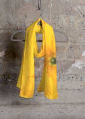 A beautiful and unique cashmere silk scarf that is perfect for your collection! Shop artistic cashmere silk scarf's created by designers all around the world. Artemis, Pansies, Wearable Art, Flower Designs, Paper Shopping Bag, Original Artwork, Silk, Yellow, Luxury