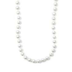 Classic 8MM White Pearl 20