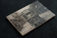 #DIY Wooden Postcards with Photo Transfers       Design Mom