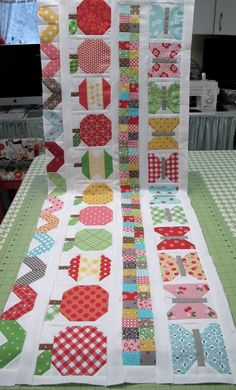 Cute quilt for outdoor picnics!!!!!