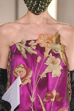"""patternprints journal: PRECIOUS DETAILS, PATTERNS AND SURFACES INTO """"COUTURE"""" FASHION COLLECTIONS F/W 2013/14 /  Maison Martin Margiela"""
