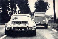 Porsche_911-RSR_2-8_TdF-73_6_Ballo-Lena Porsche 911 Rsr, Porsche Carrera, Ferdinand Porsche, Retro Cars, Vintage Cars, Automobile, Le Mans 24, Top Cars, Autos