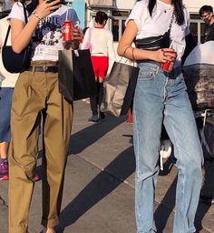 Fashion Killa, 90s Fashion, Daily Fashion, Korean Fashion, Girl Fashion, Fashion Outfits, Womens Fashion, Fashion Ideas, Fashion Beauty