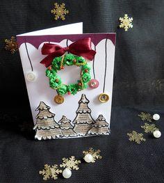 DIY - Zrób to sam, Handmade, Upcykling, Moda, Dekoracje, Inspiracje: Kartki i ozdoby świąteczne na Boże Narodzenie DIY
