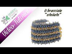 http://www.hobbyperline.com In questo Video Tutorial, Elisabetta ci guida nella creazione di un bracciale a fascia, tessendo perline Es-O Beads e Miyuki. Buo...