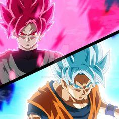 Black Goku Super Saiyan Rose by NekoAR on DeviantArt Goku Black Ssj, Goku Black Super Saiyan, Goku Super, Saga Dragon Ball, Dragon Ball Z Shirt, Dragon Z, Akira, Evil Goku, Got Dragons