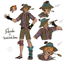 Because Shade is cool  Borderlands, Tales from the Borderlands, Shade, nataliedecorsair