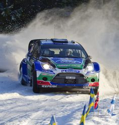 Rally in Winter. Yes please!