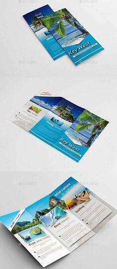 TravelAgencyFoldBrochure  Template    Brochures