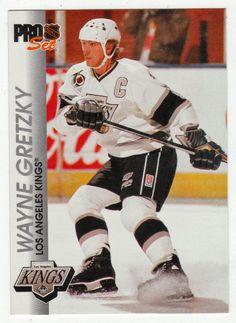Wayne Gretzky # 66 - 1992-93 NHL Pro Set Hockey Hockey Cards, Baseball Cards, Ice Hockey Players, Wayne Gretzky, National Hockey League, Nhl, Mint, Peppermint