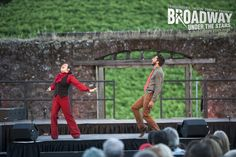 Sheri Sanders and Steve Mazurek perform in Transcendence Theatre Company's Broadway Under The Stars in Jack London State Park - Sonoma, Napa, Wine Country http://www.transcendencetheatre.org/ Photo By Ray Mabry