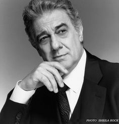 Placido Domingo. Beautiful voice and beautiful man..