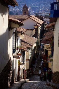 Travel Inspiration for Peru - Cuzco, Peru.