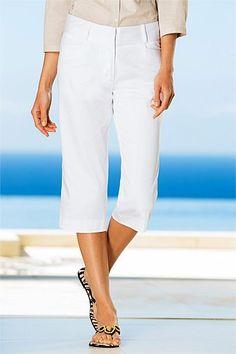 Capture Stretch Sateen Capris at EziBuy New Zealand. Buy women's, men's and kids fashion online. Stretches, Bermuda Shorts, Capri, Clothes For Women, Pants, Fashion, Outerwear Women, Trouser Pants, Moda