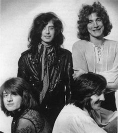 early Led Zep - Look how cute Robert is!
