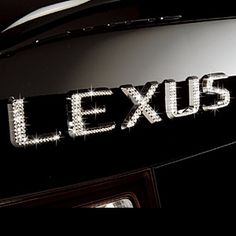 SHUT.UP!! Lexus? In SPARKLE??  Where do I get me some??????