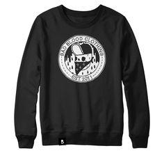 Bad Blood Clothing | Logo Sweatshirt- Black