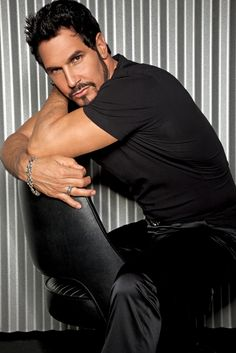 "Don Diamont, known for playing THE YOUNG AND THE RESTLESS' Brad Carlton and THE BOLD AND THE BEAUTIFUL's smokin' hot ""Dollar"" Bill Spencer. He's also REALLY nice. ;)"