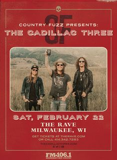 The Rave/Eagles Club/Eagles Ballroom - Live music, concerts, shows, and webcasts from Milwaukee, WI Concert Tickets, Get Tickets, Country Concerts, February 22, Fuzz, Live Music, Milwaukee, Cadillac, Eagles